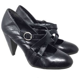 Steve Madden Women's Boots Size 9M Black Heels